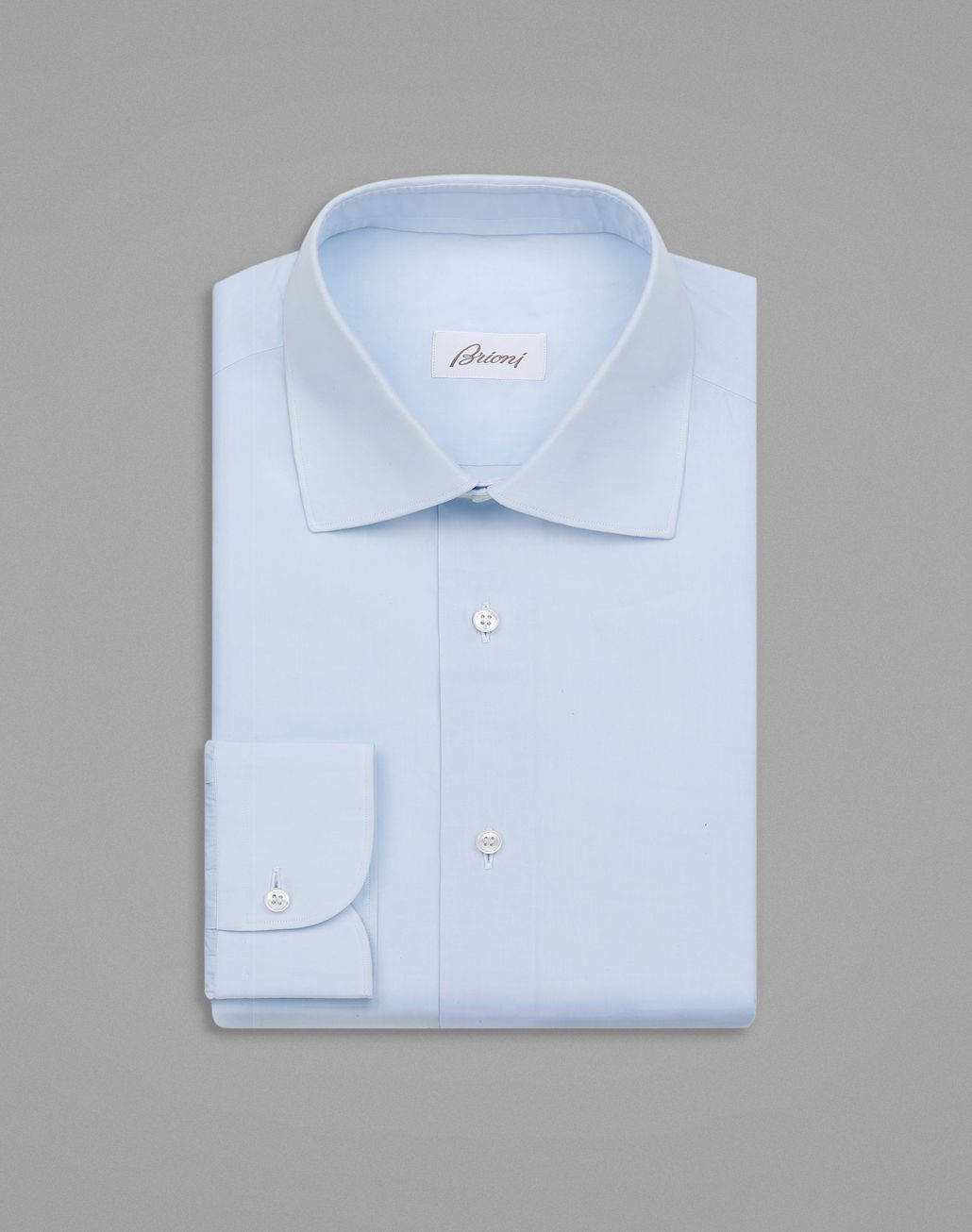 BRIONI Light Blue Formal Shirt Formal shirt Man f