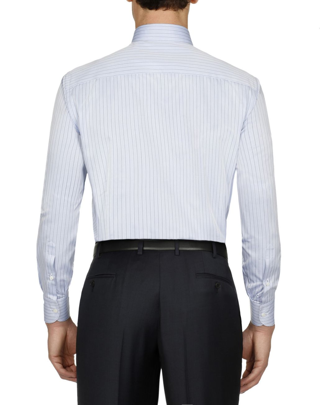 BRIONI Bluette Striped Formal Shirt Formal shirt [*** pickupInStoreShippingNotGuaranteed_info ***] d