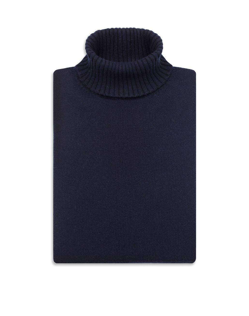 BRIONI Тёмно-синяя водолазка Tрикотаж Для Мужчин e