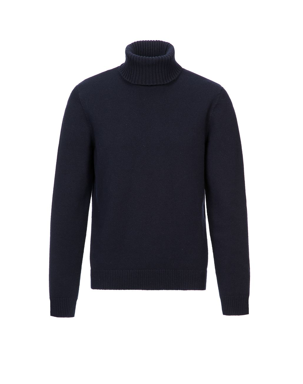 BRIONI Navy Blue Turtleneck Sweater Knitwear Man f