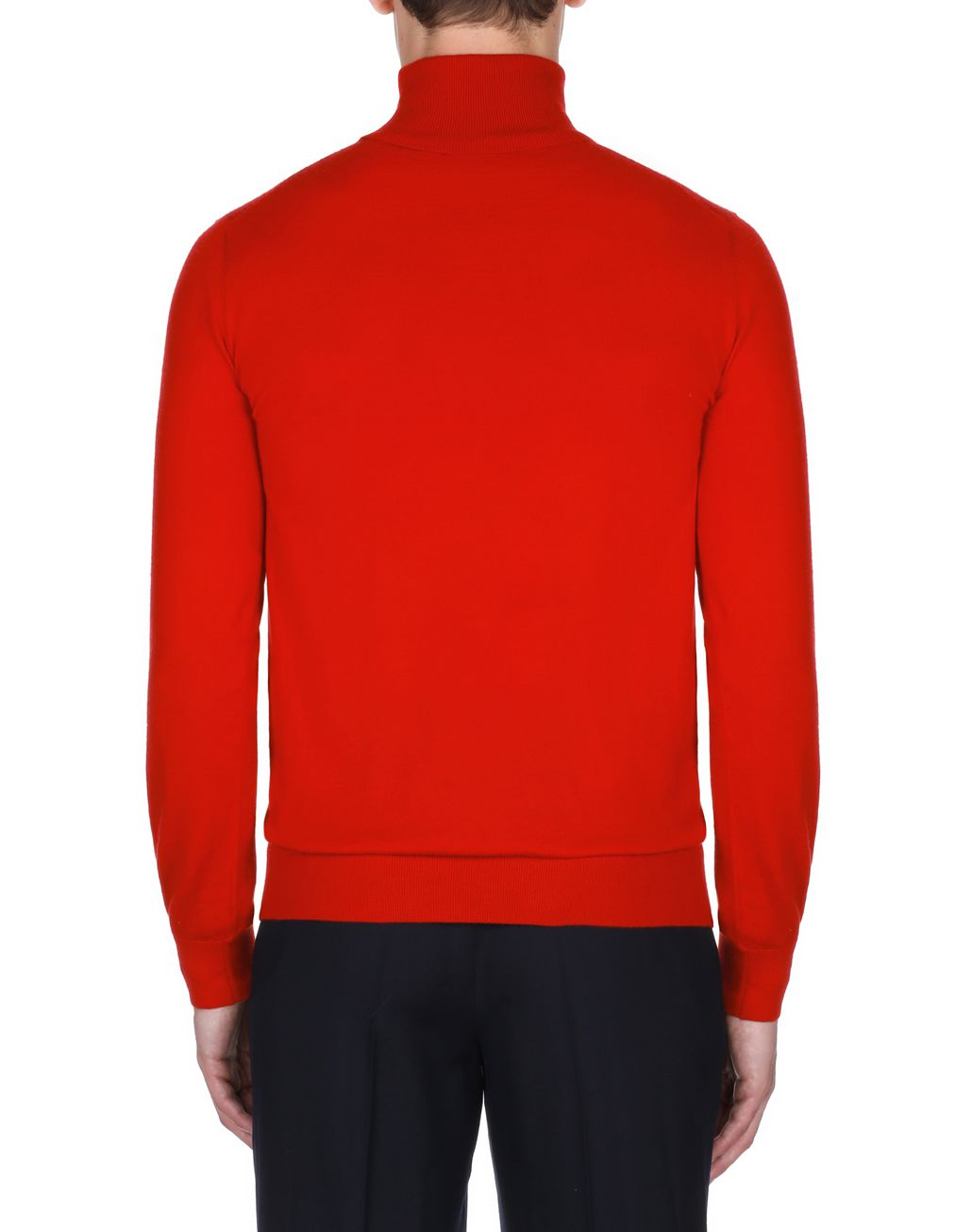 BRIONI Red Turtleneck Sweater Knitwear Man d