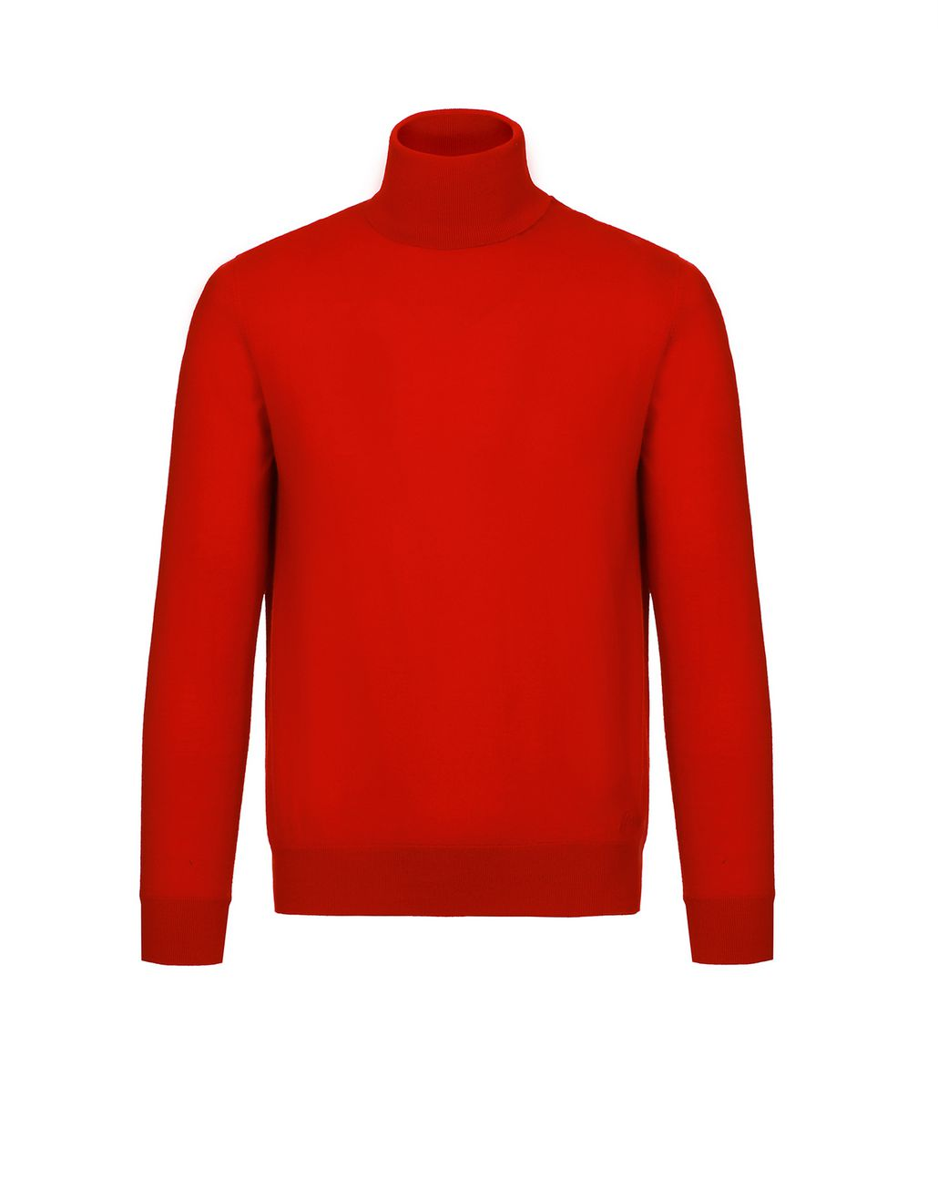 BRIONI Red Turtleneck Sweater Knitwear Man f