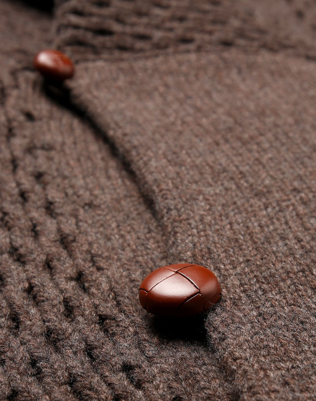 BRIONI Brown Knitwear Jacket Knitwear [*** pickupInStoreShippingNotGuaranteed_info ***] a