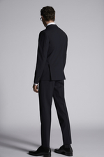 DSQUARED2 Tropical Weight Stretch Worsted Wool Manchester Suit Костюм Для Мужчин