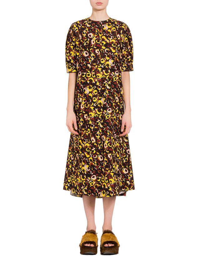 27b50d82a Marni Vestido de popelina con estampado Marken Mujer - 1 ...