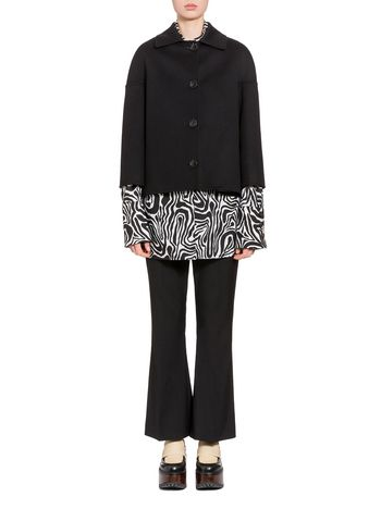 Marni Jacket in double knit wool and cashmere Woman