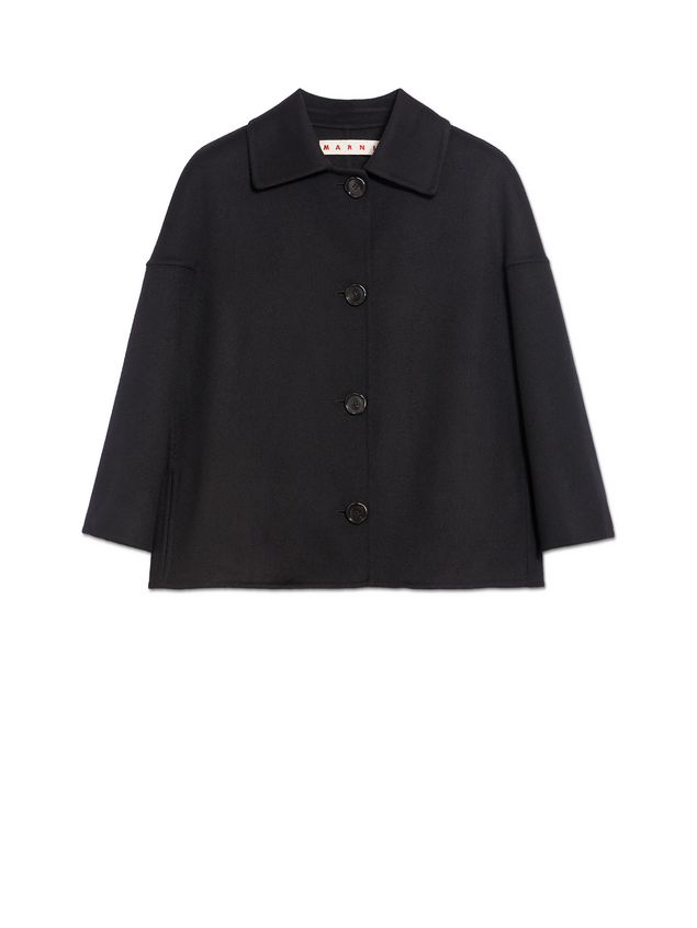 Marni Jacket in double knit wool and cashmere Woman - 2