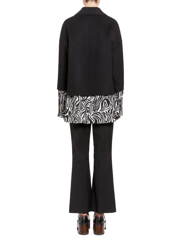 Marni Jacket in double knit wool and cashmere Woman - 3
