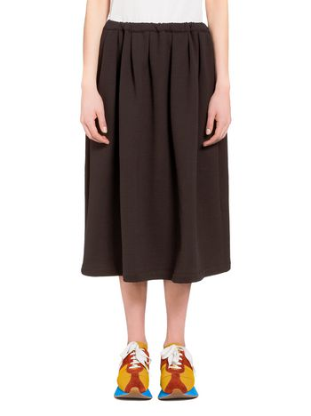 Marni Skirt in brushed jersey Woman