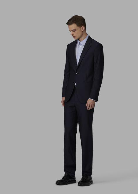 83b7e57e00140 Slim-fit half-canvas cupro Soho suit