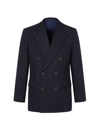 Navy Blue Parioli Double Breasted Jacket