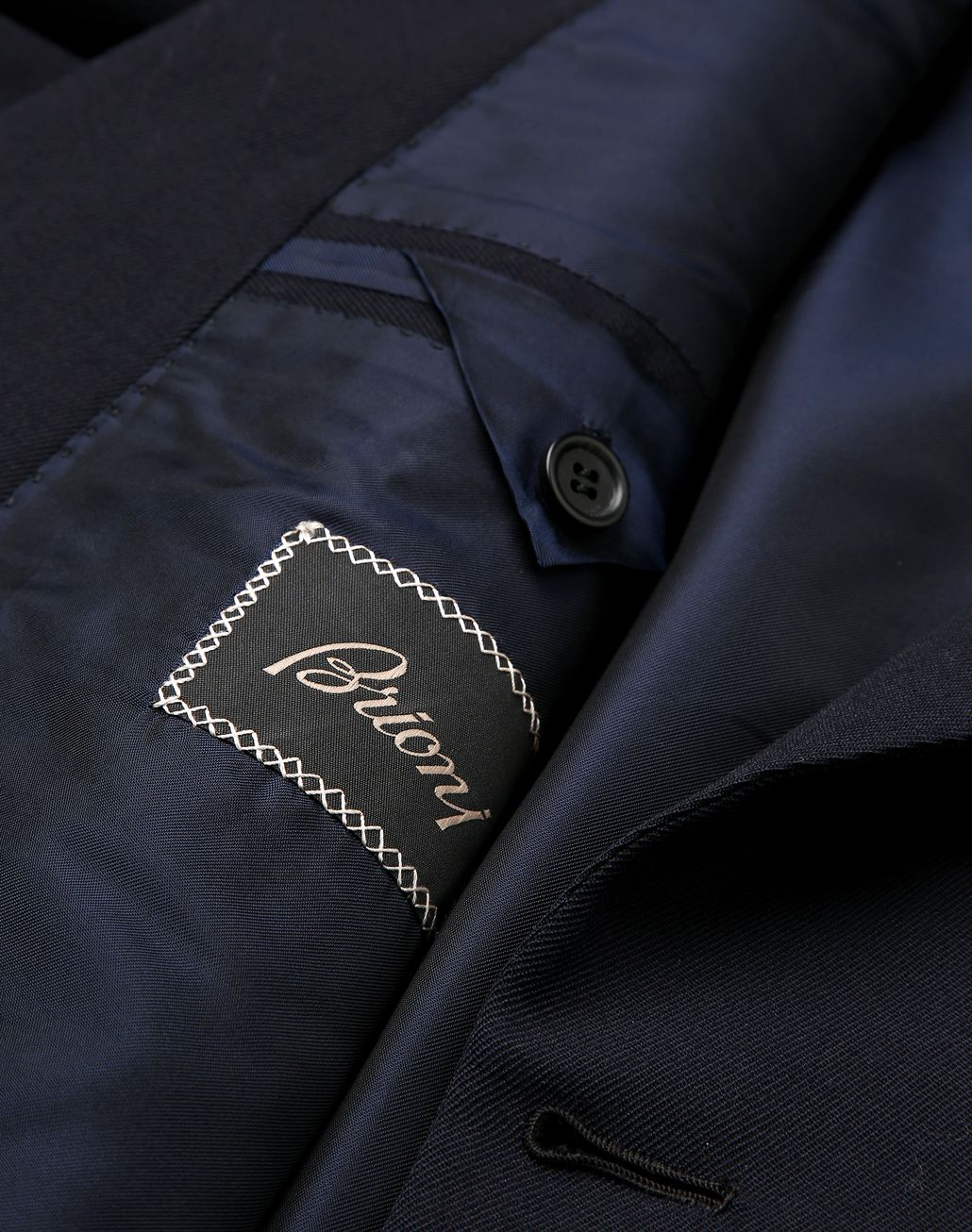 BRIONI Navy Blue Parioli Double Breasted Jacket Jackets [*** pickupInStoreShippingNotGuaranteed_info ***] b
