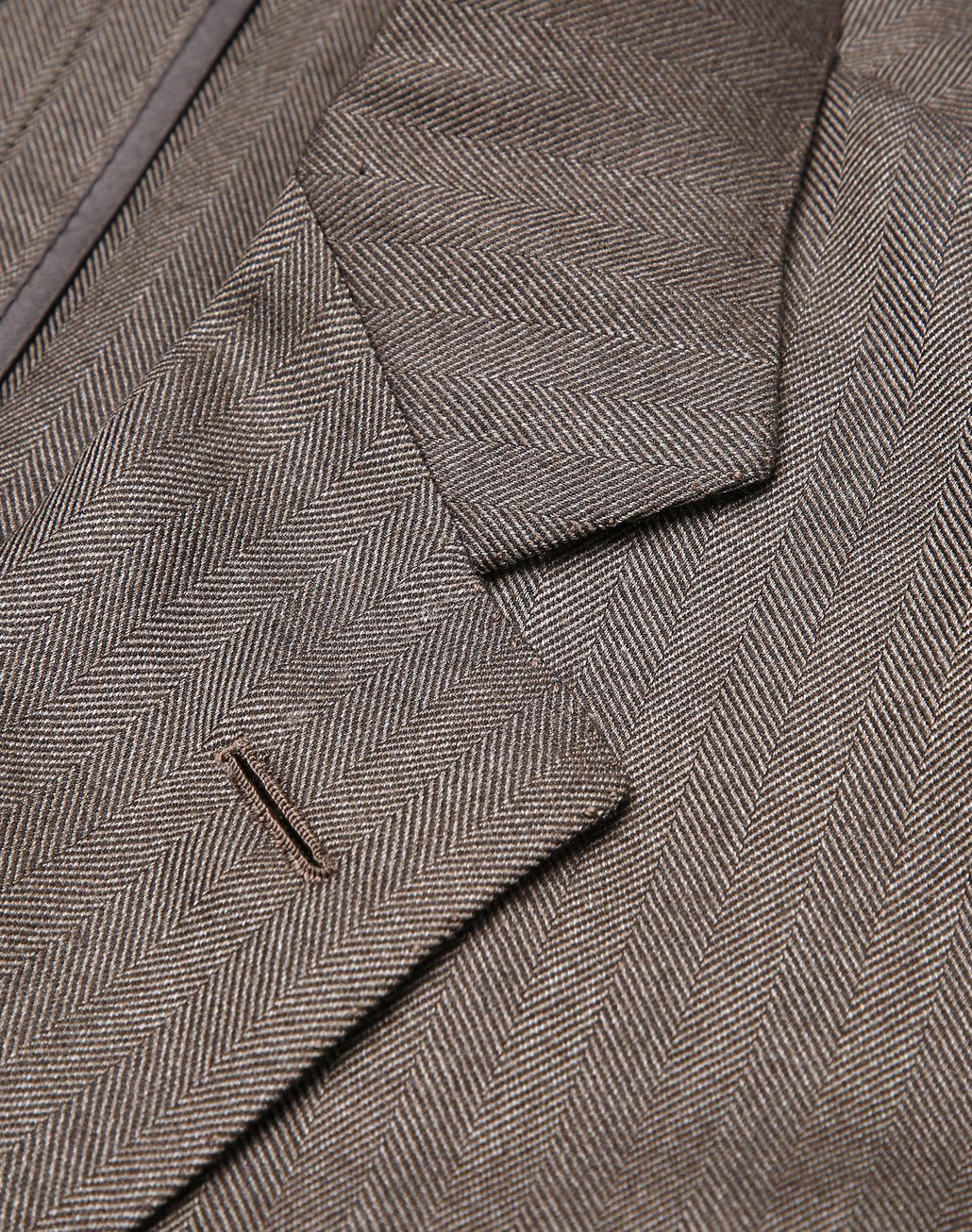 BRIONI Brown Ravello Jacket Jackets [*** pickupInStoreShippingNotGuaranteed_info ***] e