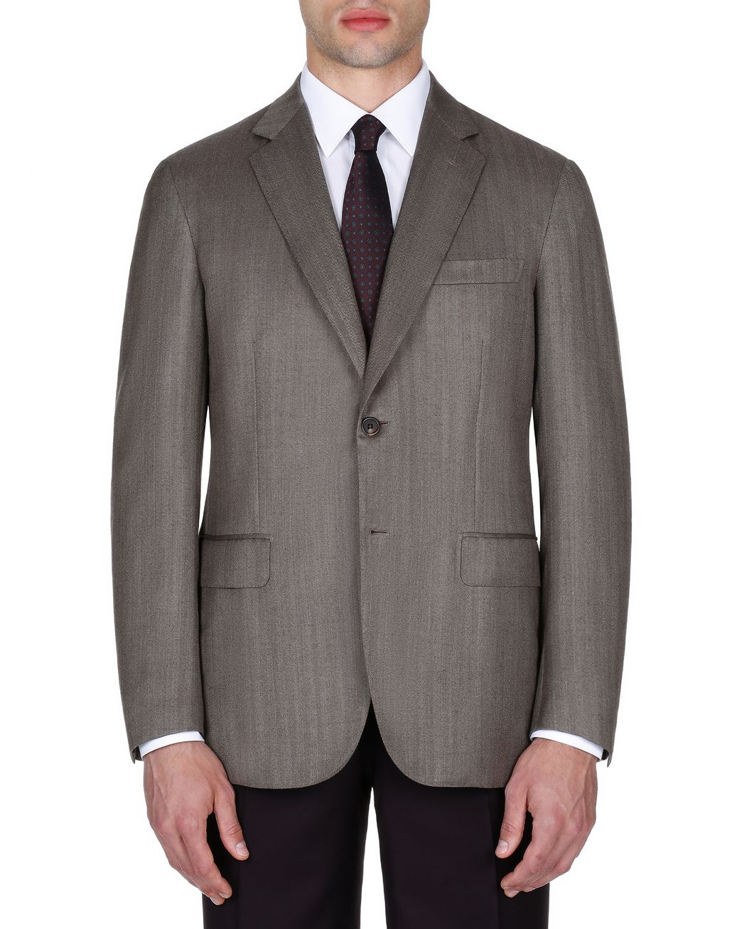 BRIONI Brown Ravello Jacket Jackets Man r