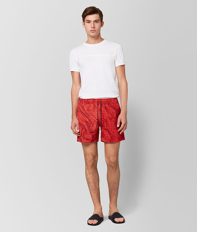 BOTTEGA VENETA RED POLYESTER SWIMSUIT Beachwear Man fp