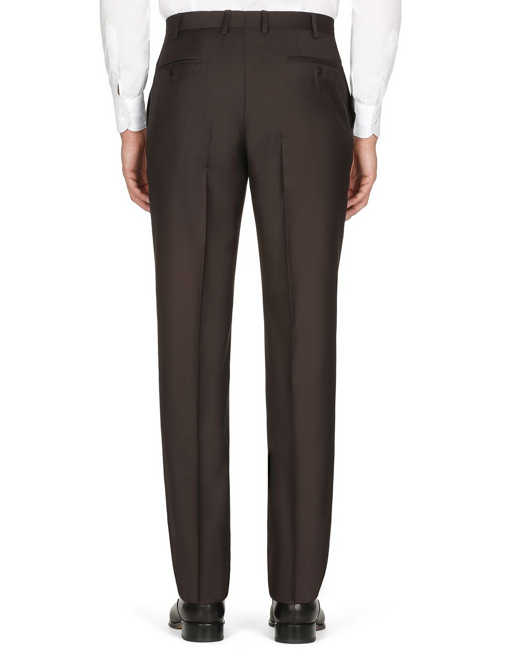 BRIONI Brown Tigullio Trousers Trousers [*** pickupInStoreShippingNotGuaranteed_info ***] d