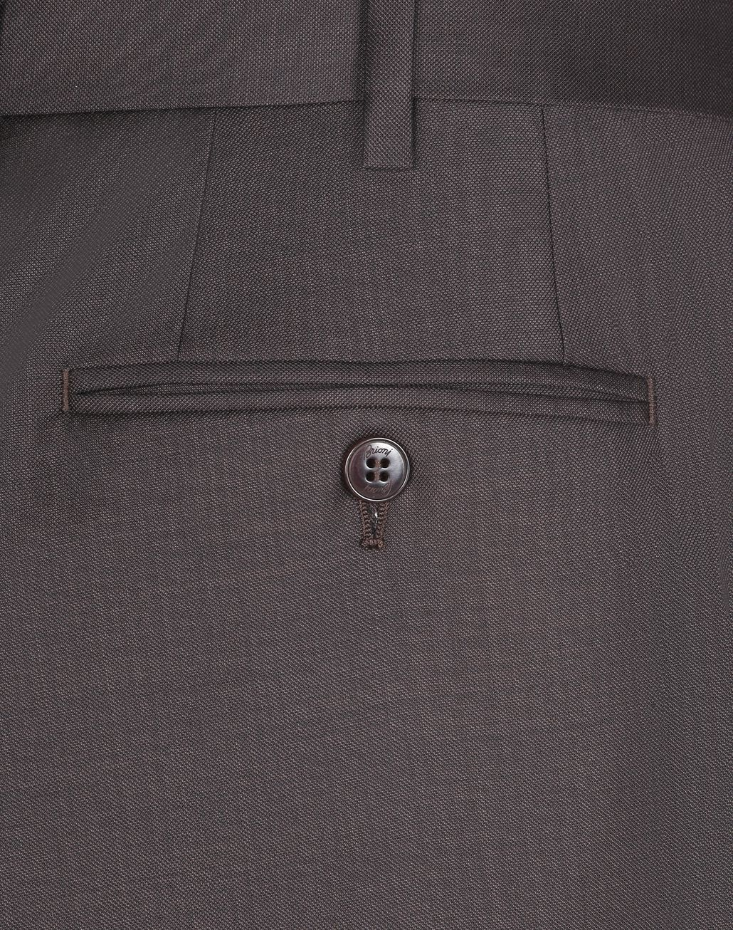 BRIONI Brown Tigullio Trousers Trousers [*** pickupInStoreShippingNotGuaranteed_info ***] e