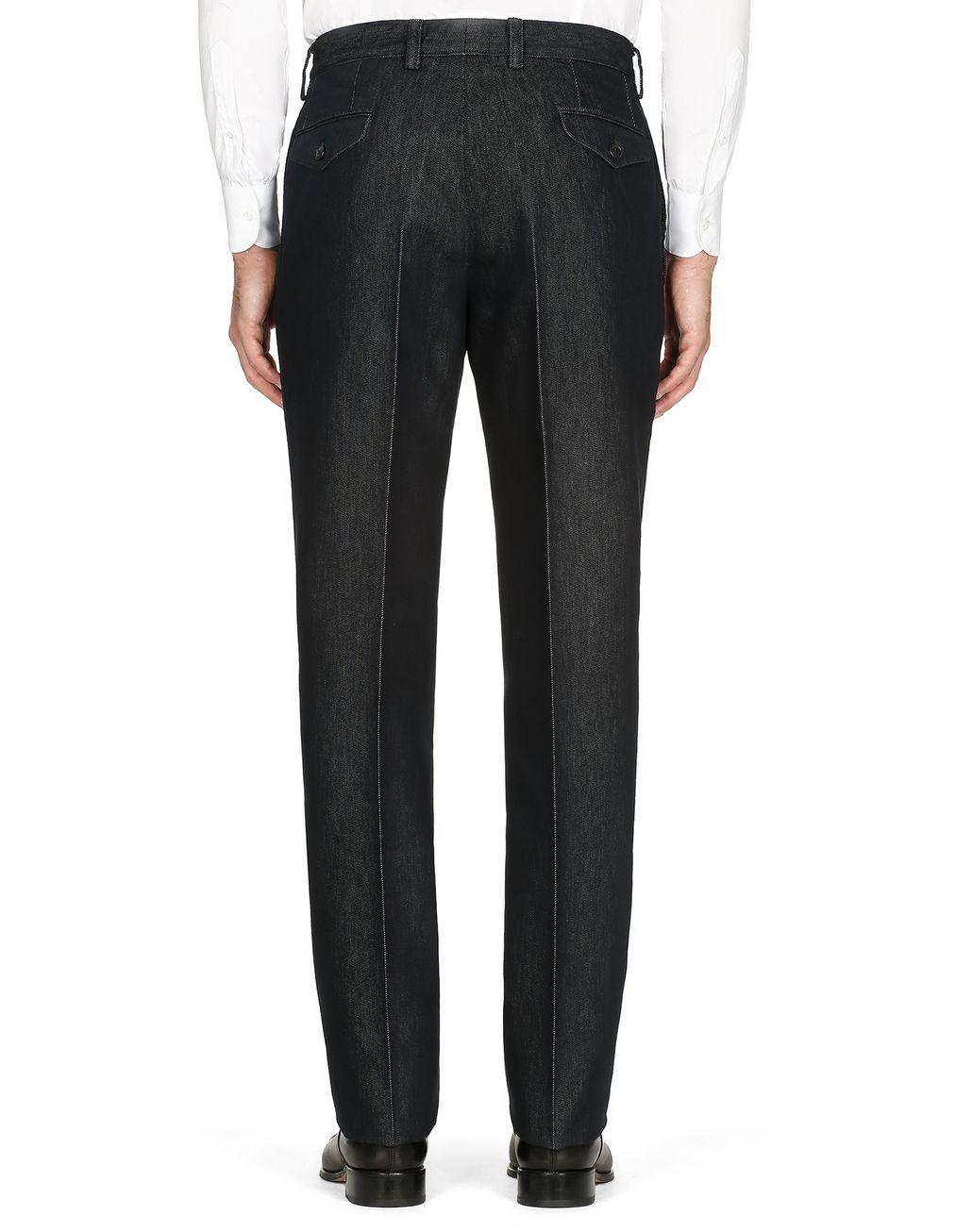 BRIONI Navy Blue Chino Pants Trousers [*** pickupInStoreShippingNotGuaranteed_info ***] d