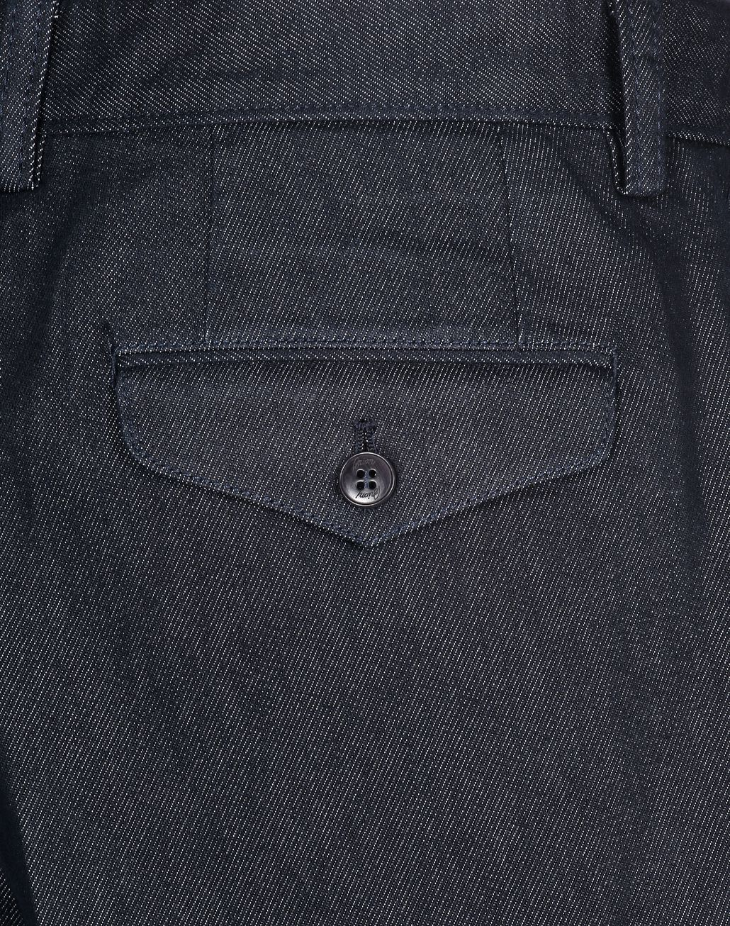 BRIONI Navy Blue Chino Pants Trousers [*** pickupInStoreShippingNotGuaranteed_info ***] e