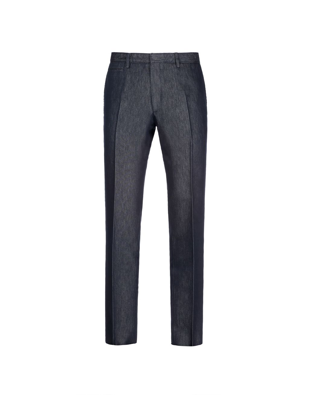BRIONI Navy Blue Chino Pants Trousers Man f