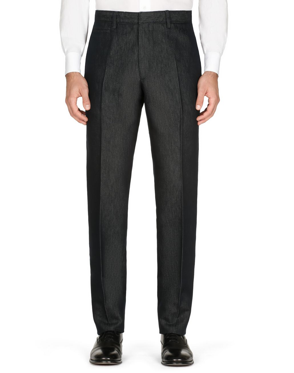 BRIONI Navy Blue Chino Pants Trousers [*** pickupInStoreShippingNotGuaranteed_info ***] r