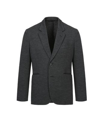 Antrachite Gray Jersey Jacket