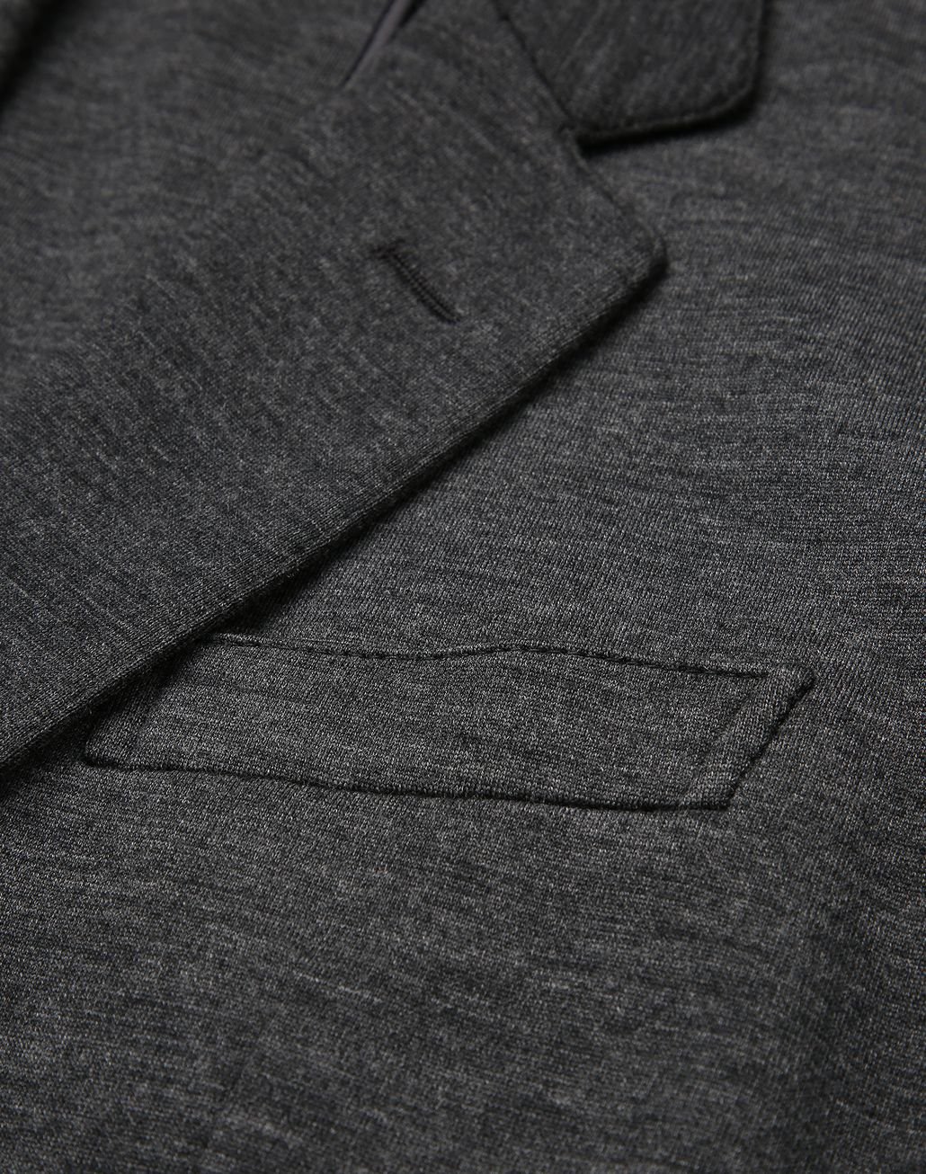 BRIONI Antrachite Gray Jersey Jacket Jackets Man e