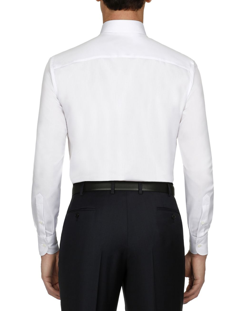 BRIONI White Twill Formal Shirt Formal shirt Man d