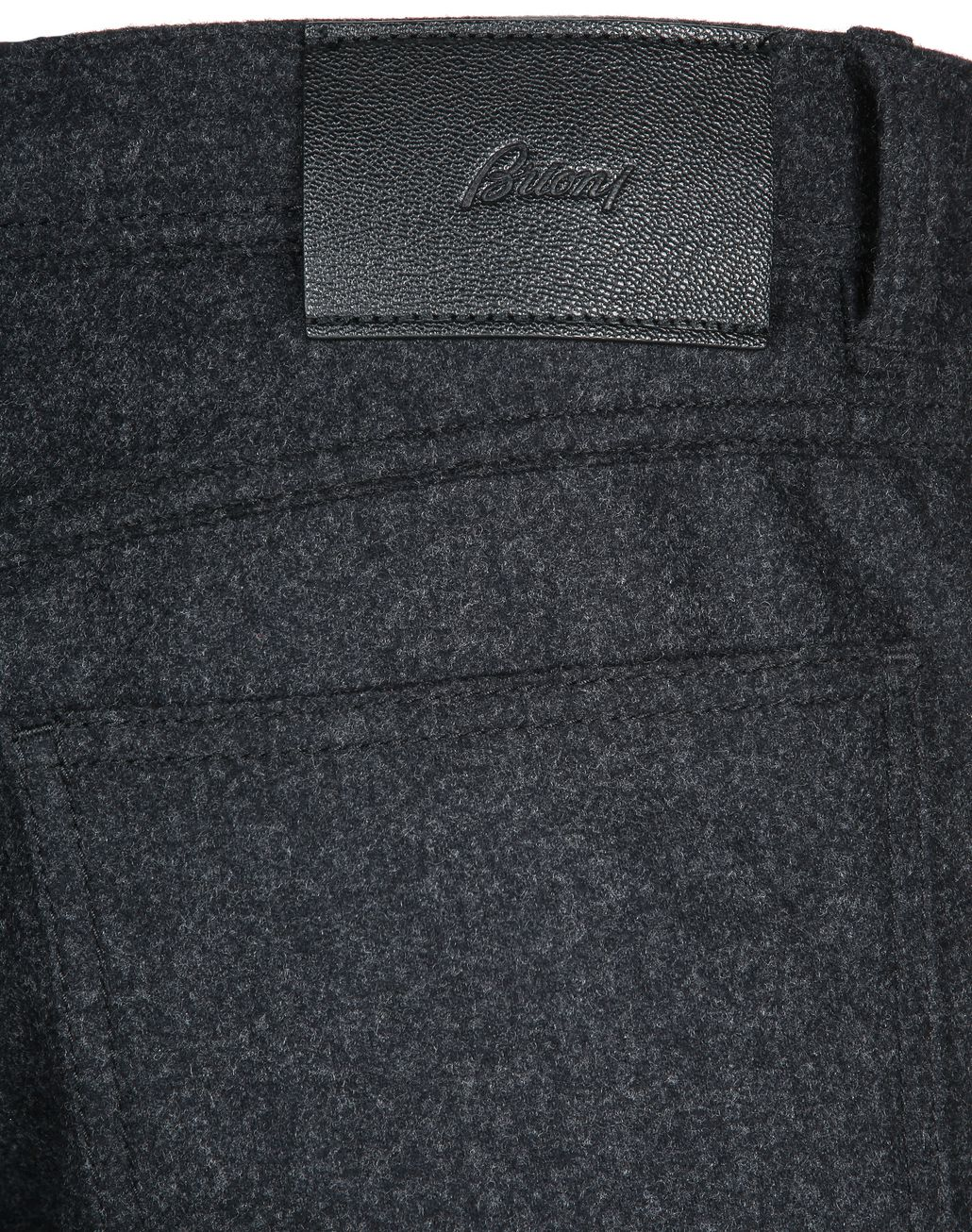 BRIONI Antrachite Trousers Trousers Man a