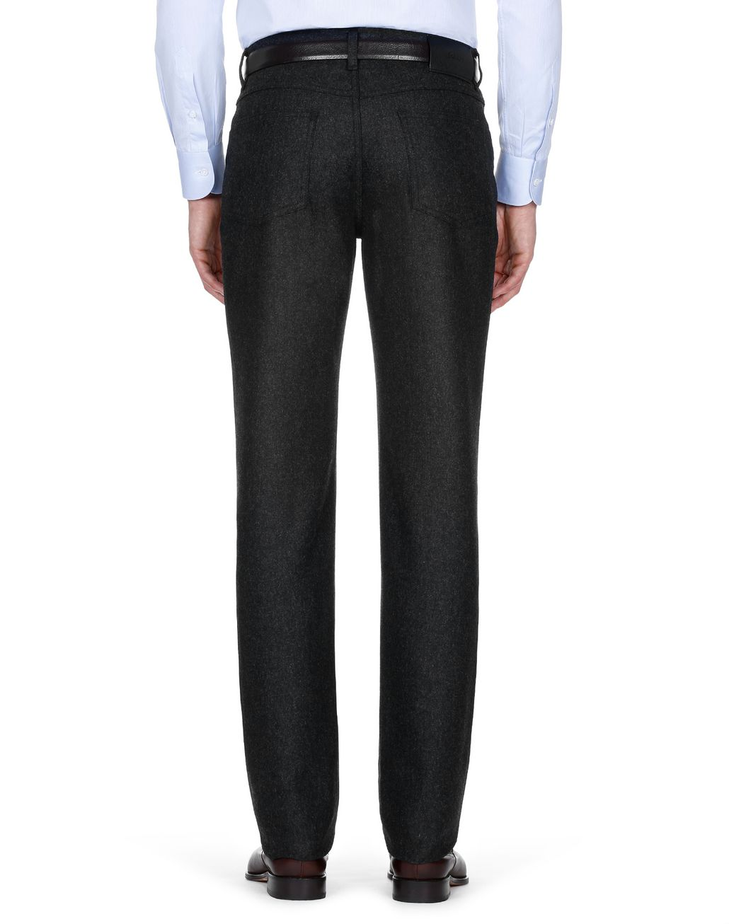 BRIONI Antrachite Trousers Trousers Man d