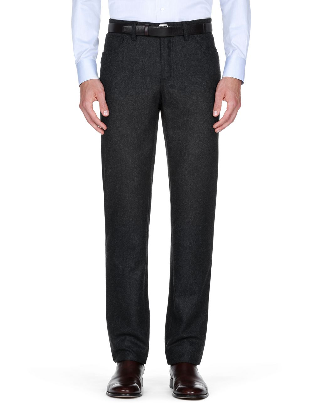 BRIONI Antrachite Trousers Trousers Man r