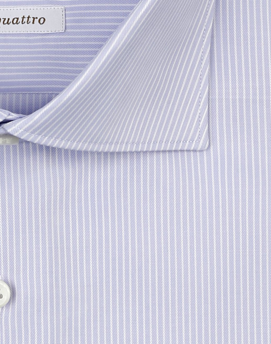 BRIONI White and Lilac Striped Shirt Formal shirt [*** pickupInStoreShippingNotGuaranteed_info ***] e