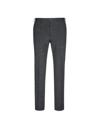 Antrachite Grey Jersey Trousers