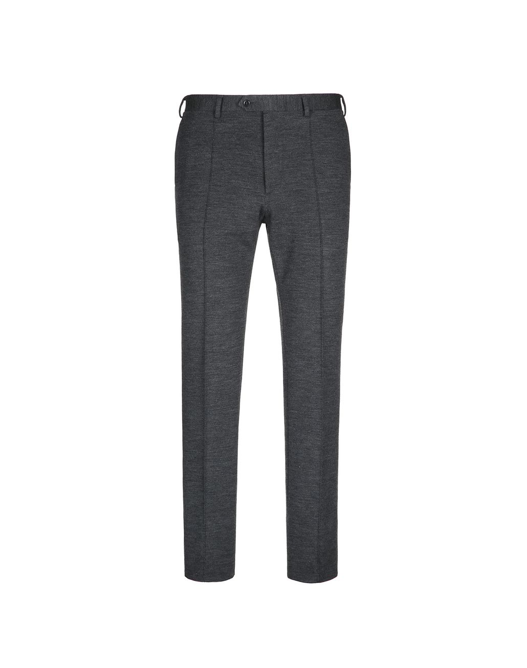 BRIONI Antrachite Gray Jersey Pants Trousers Man f