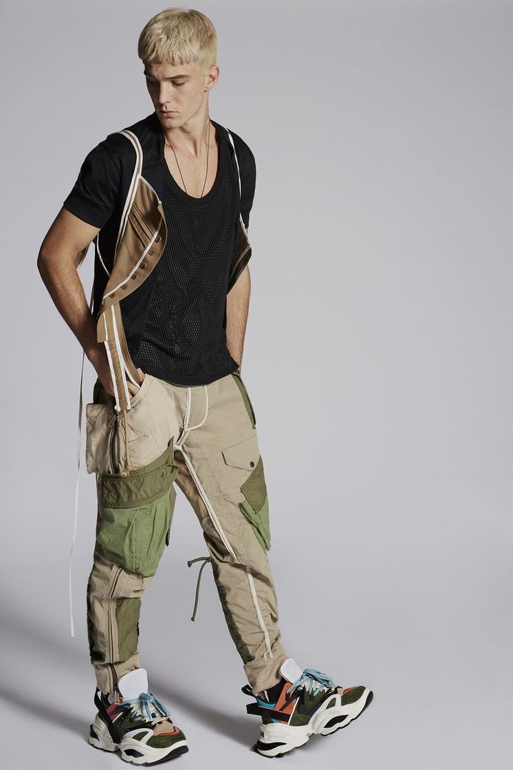 DSQUARED2 Military Vest  Waistcoat Man