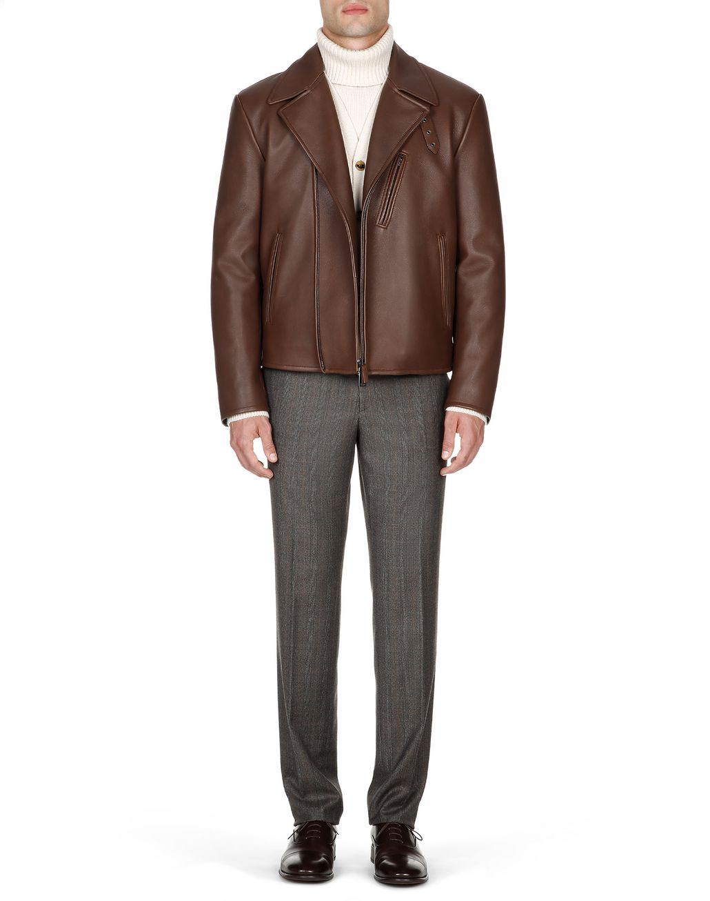 BRIONI Havana Elk Perfect Jacket   Outerwear Man r