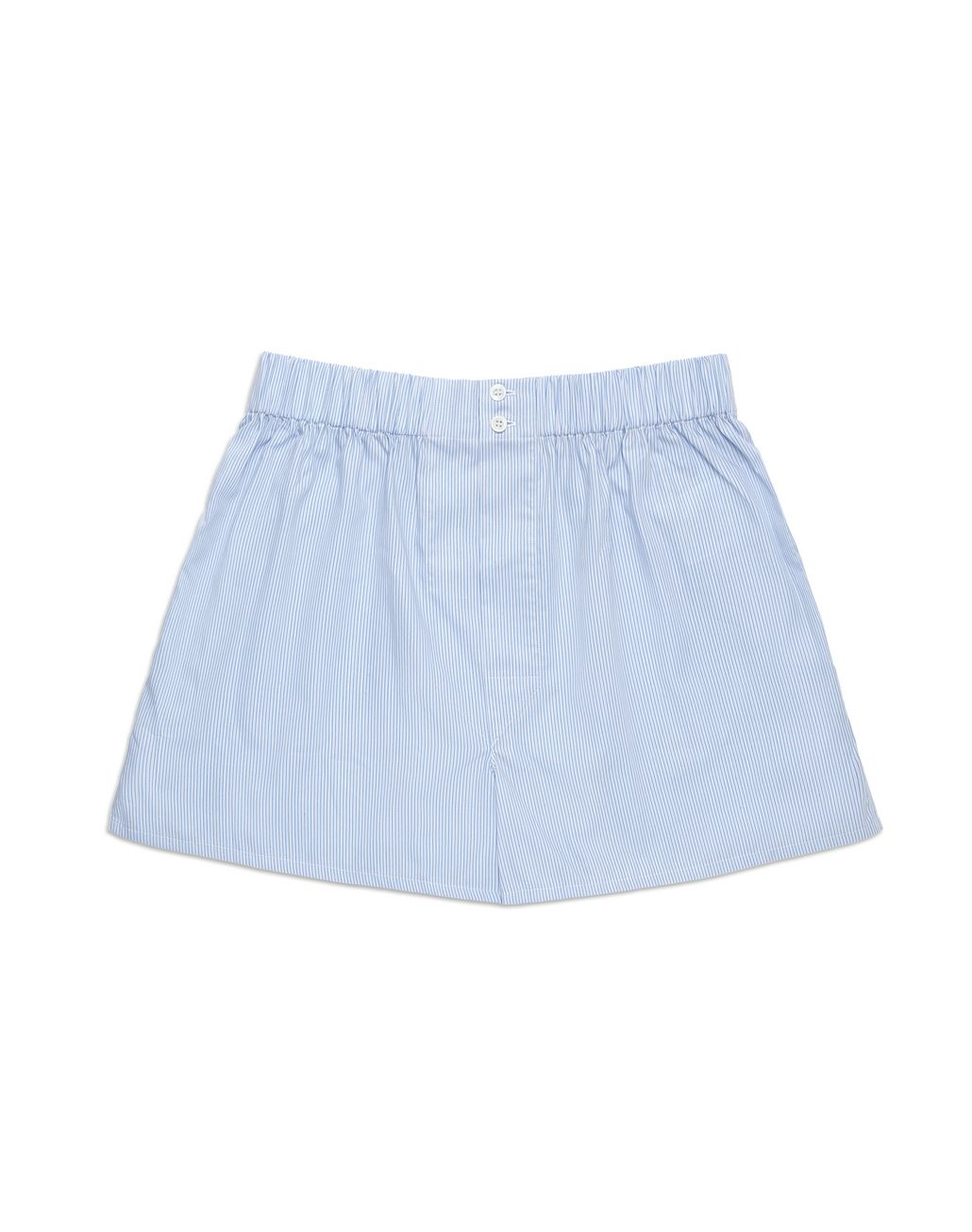 BRIONI Boxer a Righine Bianche e Bluette Intimo [*** pickupInStoreShippingNotGuaranteed_info ***] f