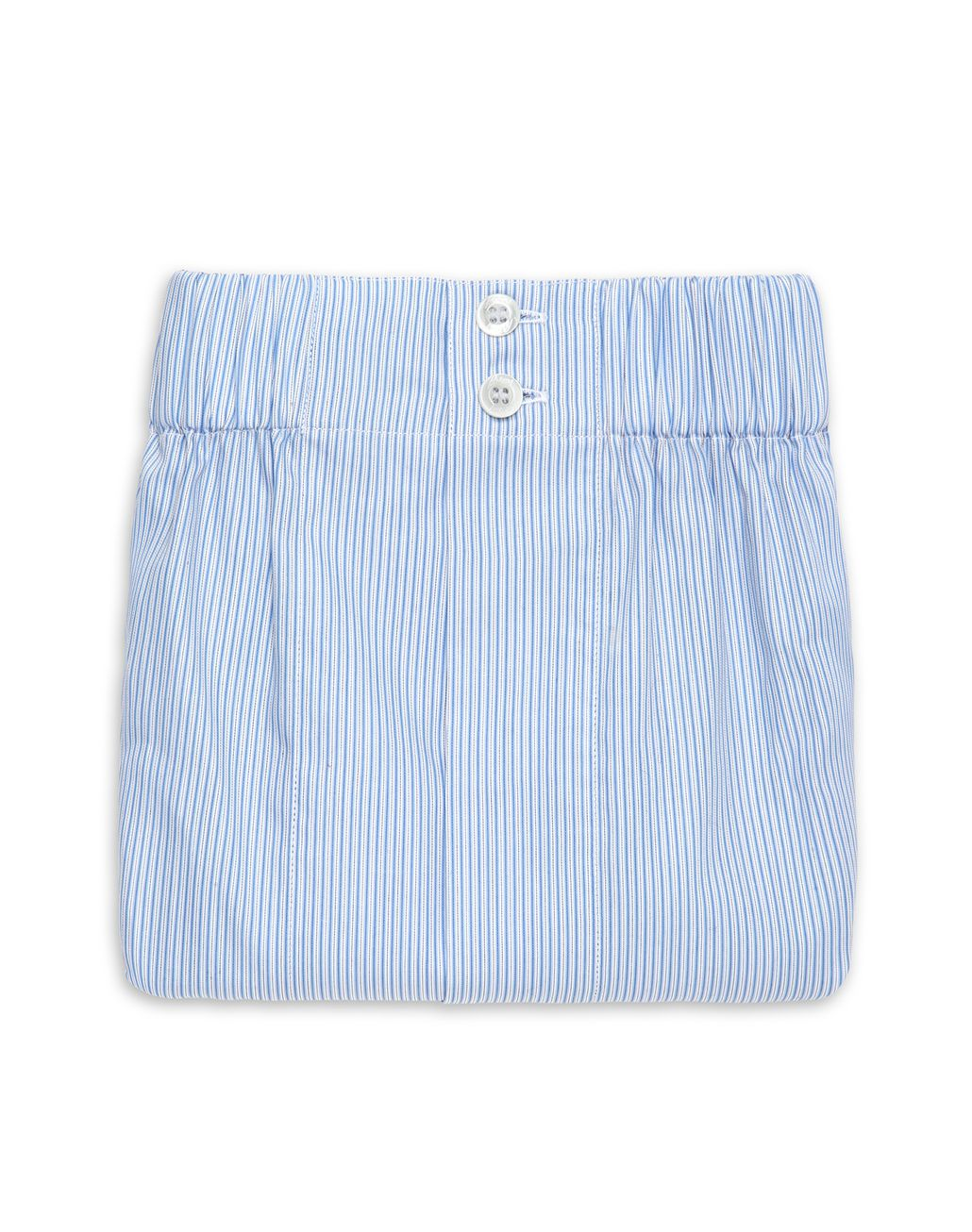 BRIONI Boxer a Righine Bianche e Bluette Intimo [*** pickupInStoreShippingNotGuaranteed_info ***] r
