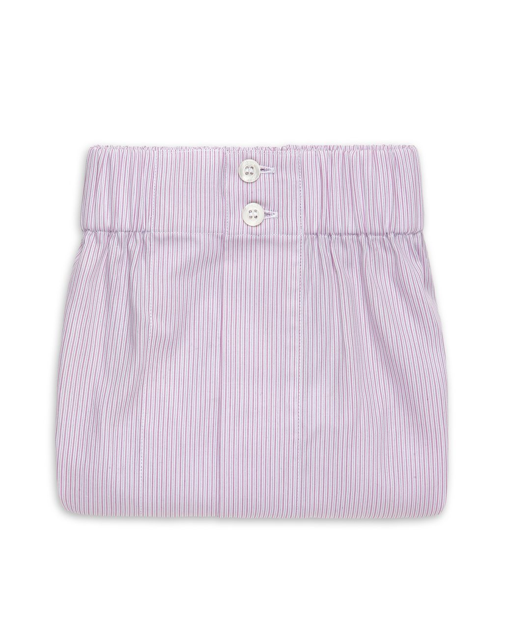 BRIONI Liliac and White Pinstriped Underwear Underwear Man r