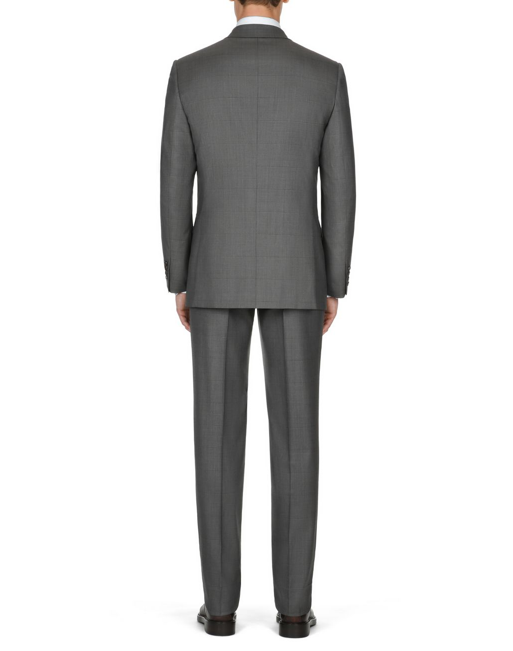 BRIONI Gray Parioli Double-Breasted Suit    Suits & Jackets Man d