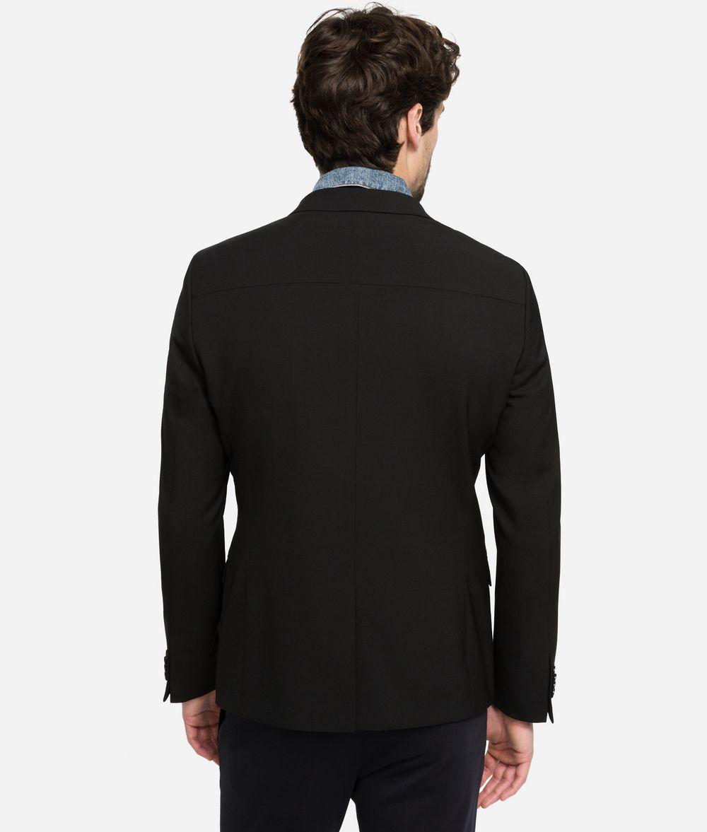 KARL LAGERFELD Blazer with Denim Details Blazer Man d
