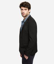 KARL LAGERFELD Blazer with Denim Details 9_f