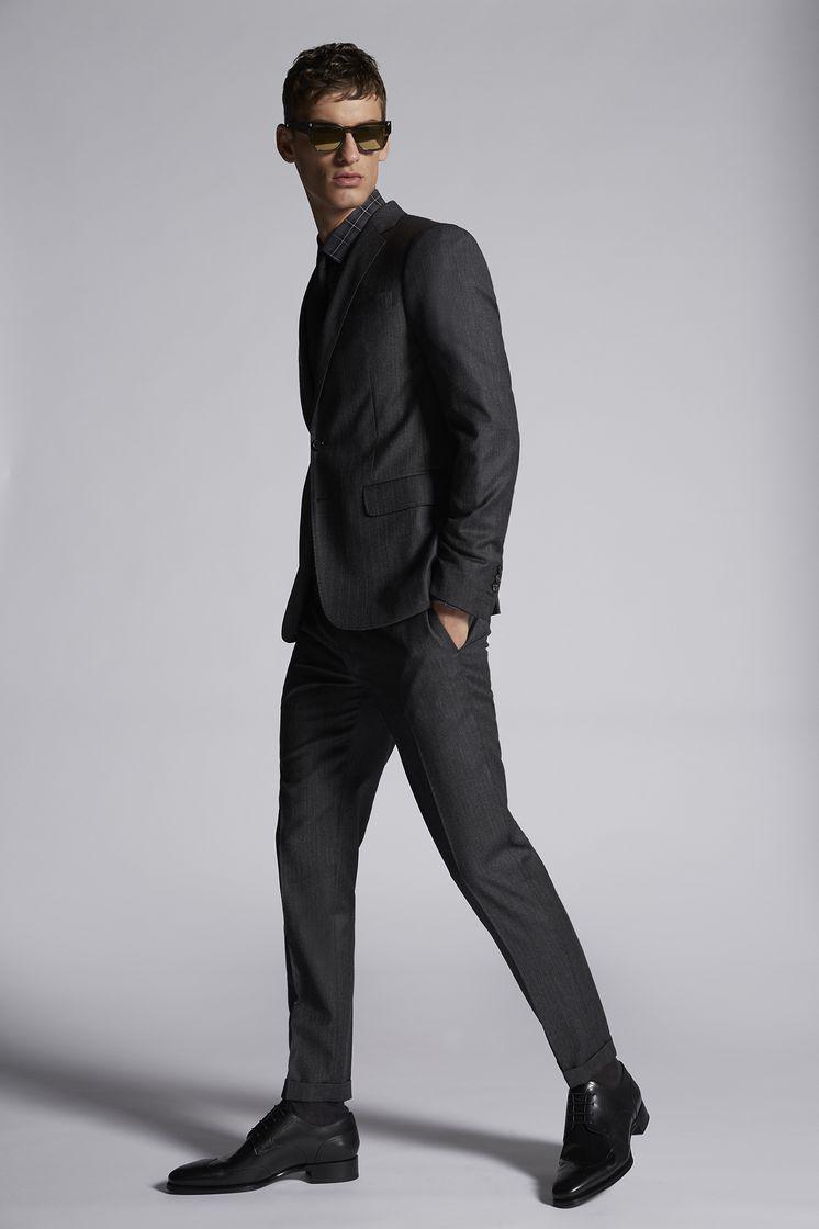 DSQUARED2 Stripe Wool Paris Suit Костюм Для Мужчин