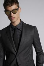 DSQUARED2 Stripe Wool Paris Suit Suit Man
