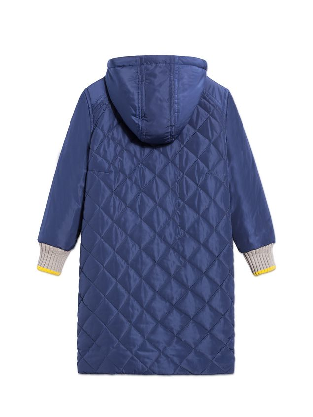 Marni BLUE QUILTED JACKET WITH HOOD Woman - 3