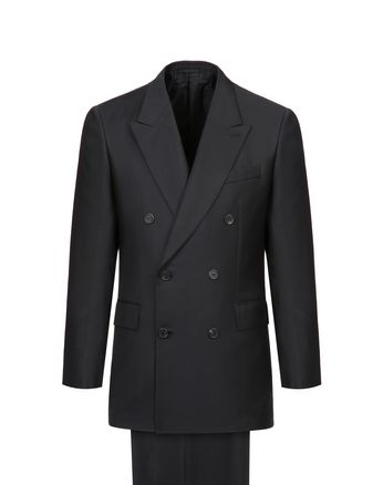 Black Asmara Double-Breasted Suit