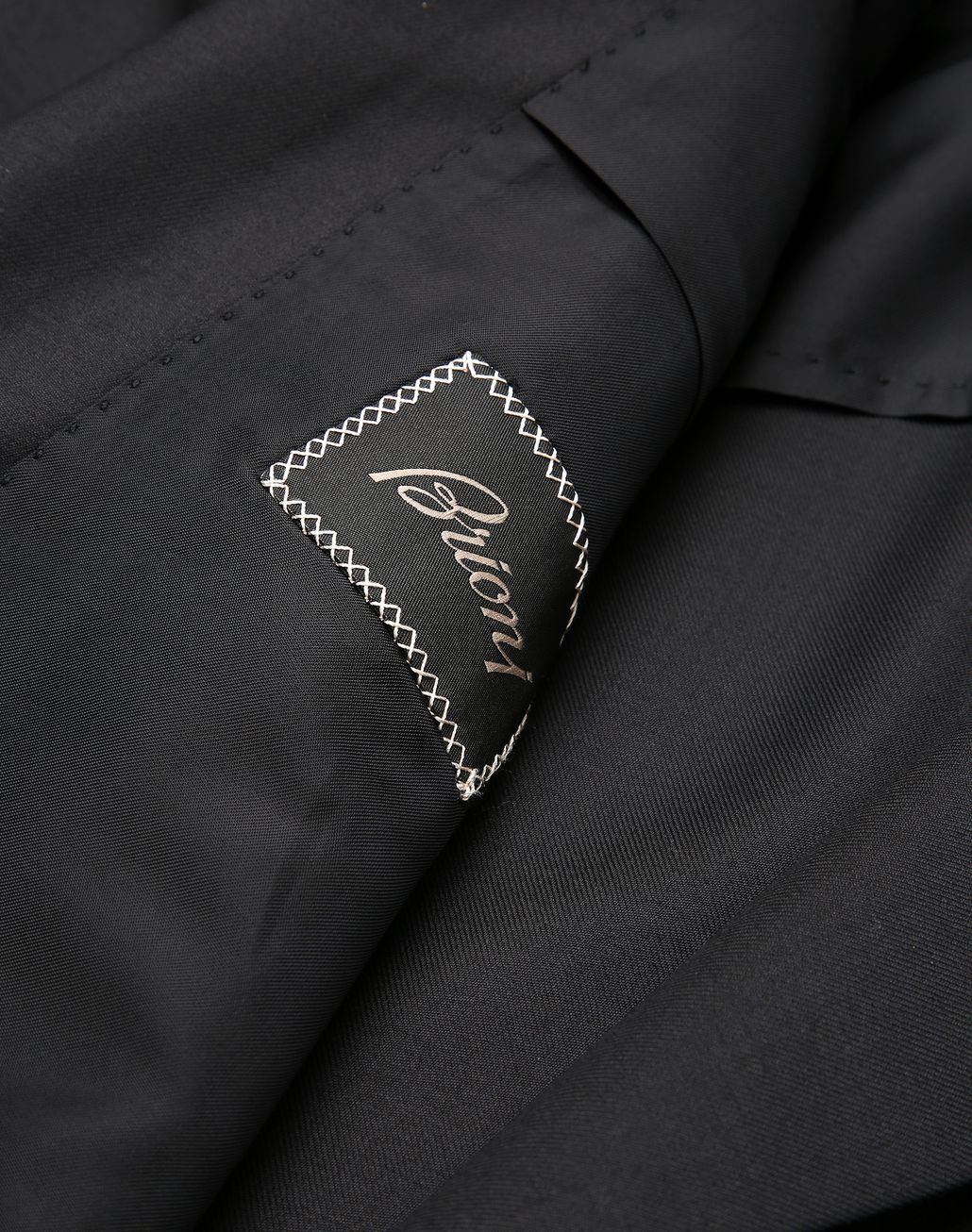 BRIONI Black Asmara Double-Breasted Suit Suits & Jackets Man b