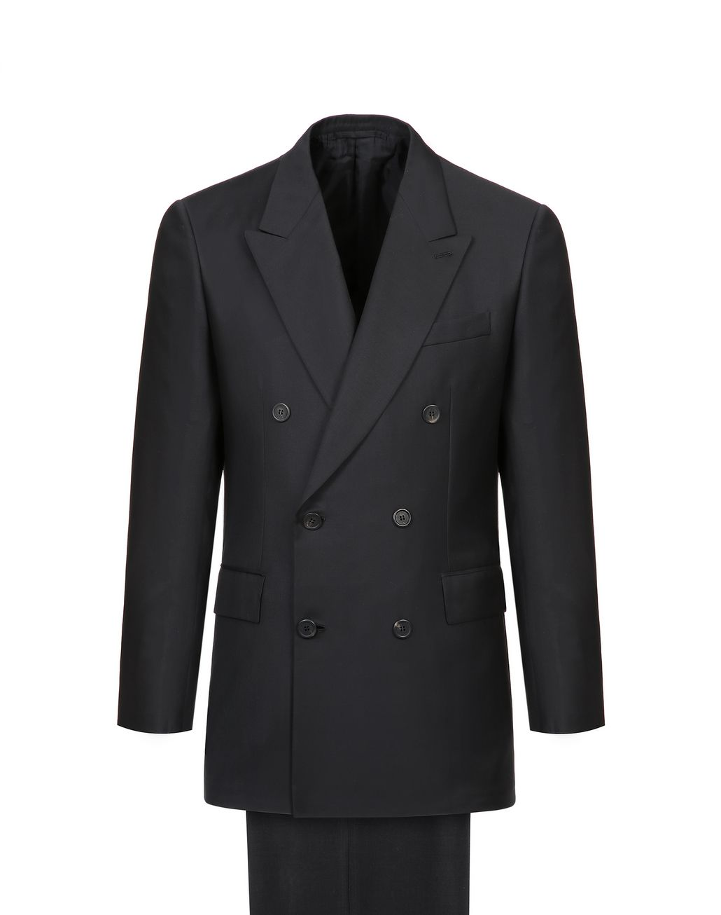 BRIONI Black Asmara Double-Breasted Suit Suits & Jackets Man f