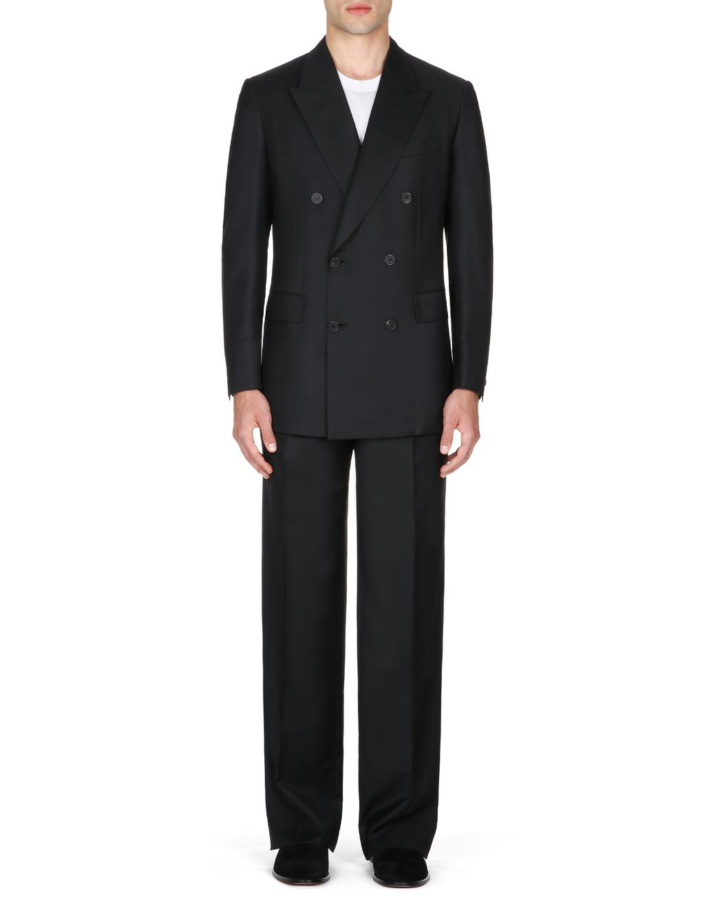 BRIONI Black Asmara Double-Breasted Suit Suits & Jackets Man r