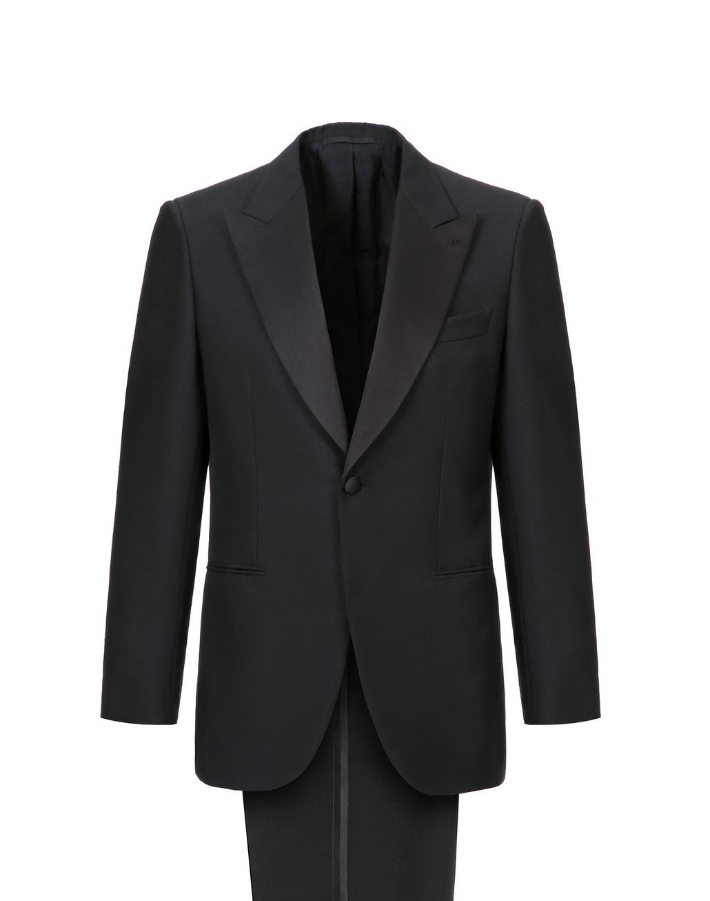 BRIONI Black Parioli Tuxedo Suit  Suits & Jackets Man f